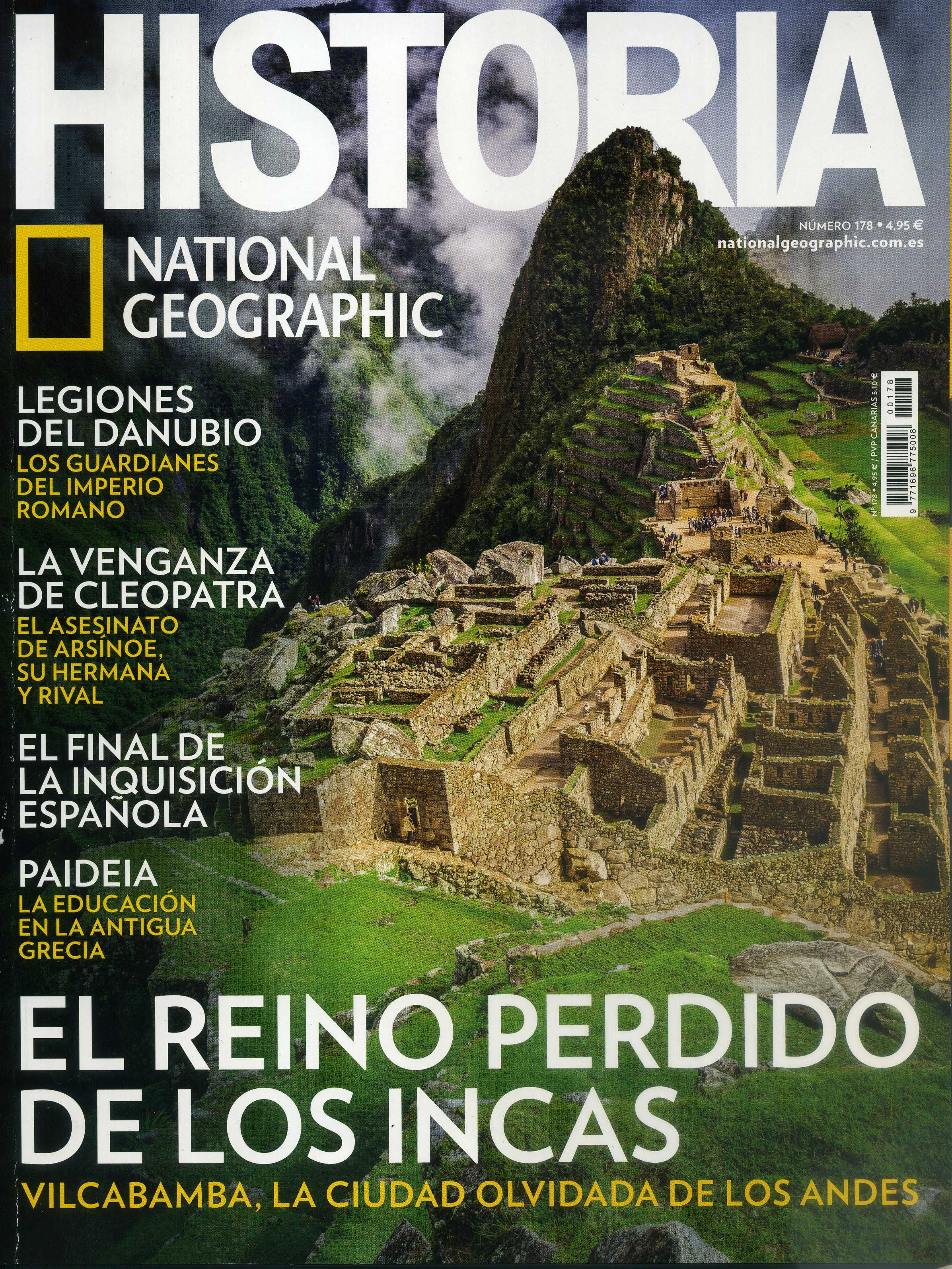 HISTORIA National Geographic. No. 178